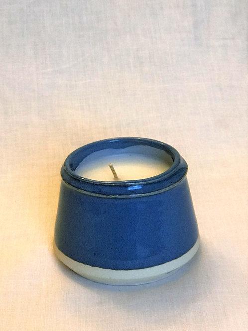 Sky Blue Candle   Vanilla Citrus
