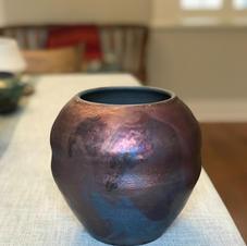 Copper Penny Raku
