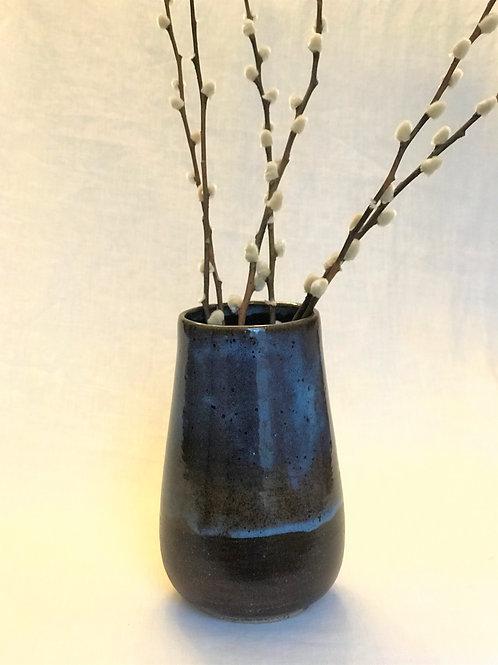Cosmic Blue Flower Pot