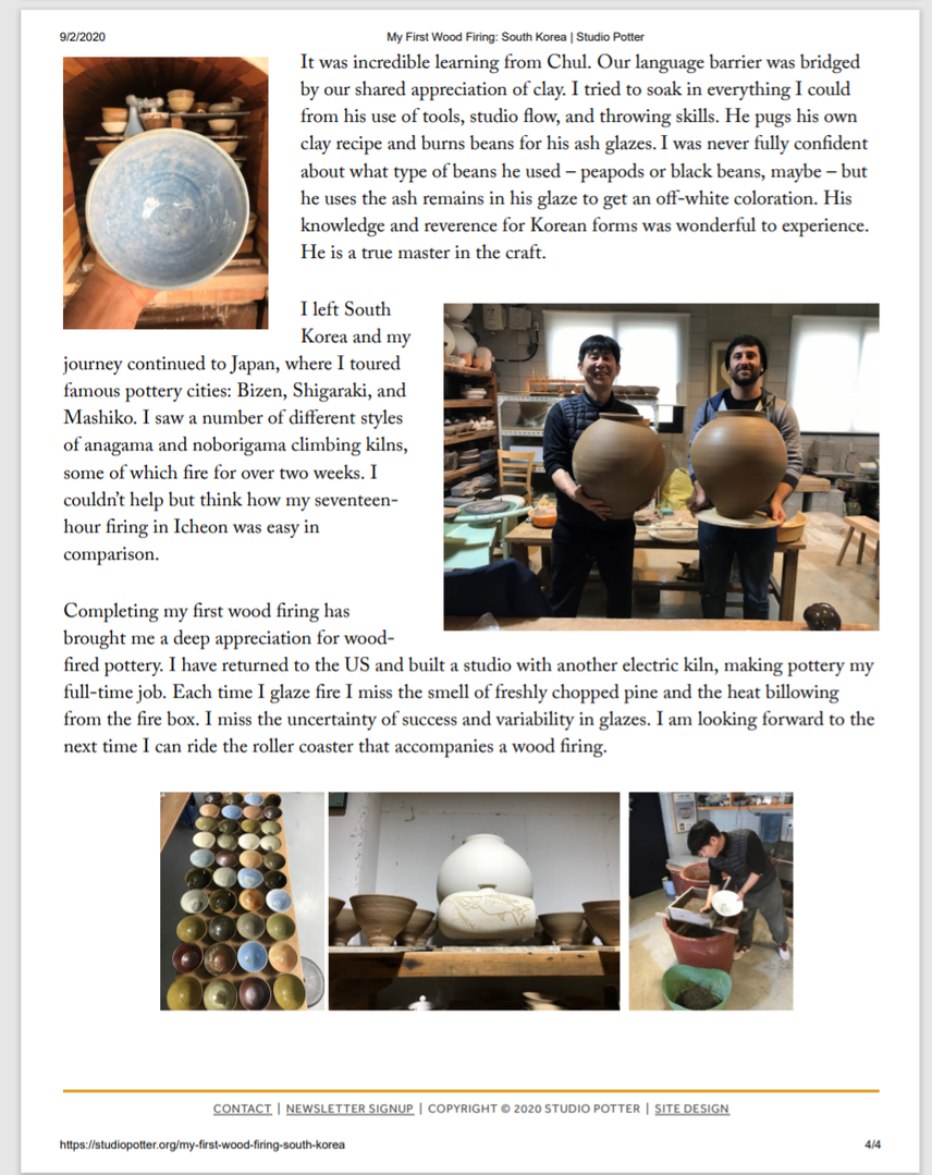 Studio Potter pg.4