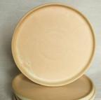 Beige on White Clay