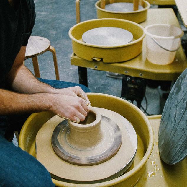Handthrowing bowls