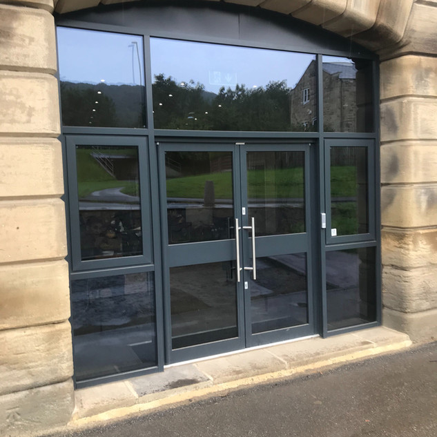 West Yorkshire Glazing - Commercial Alum