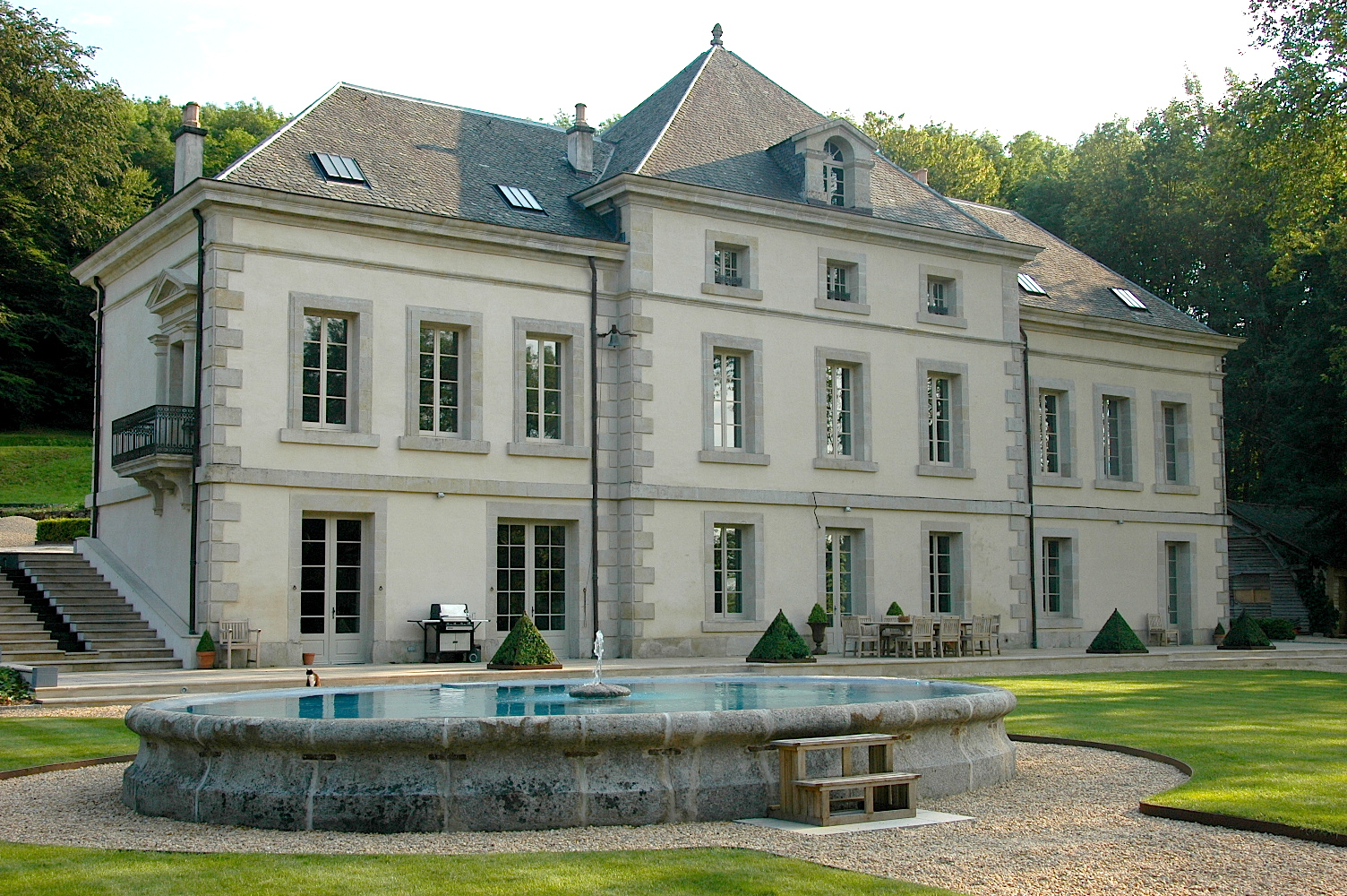 Chateau Back and Side