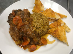 Lamb Shanks with Moroccan Rice