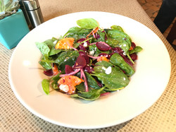 Spinach and Beats Salad
