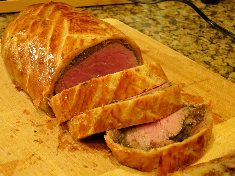 Beef Wellington (25 minutes)