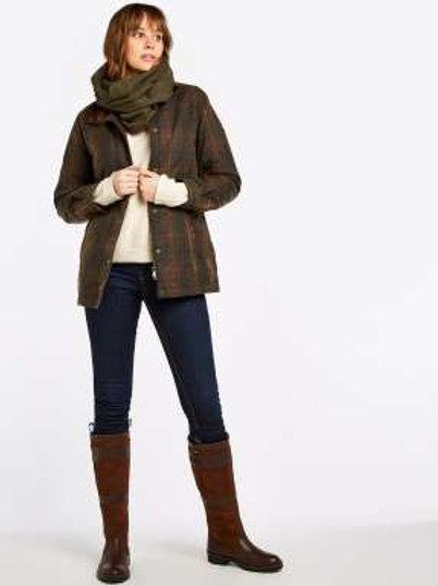 Annestown Plaid Wax Cotton Jacket
