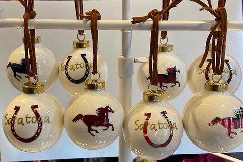 Custom Saratoga Tree Ornament
