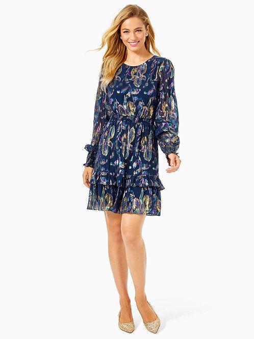 Dotti Silk Ruffle Dress