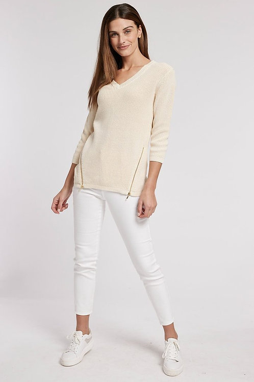 Mineral Wash Shaker Sweater