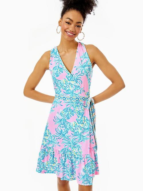 Sleeveless Misha Wrap Dress