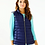 Thumbnail: 2 in 1 Haisley Puffer Vest/Jacket