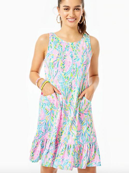 Kristen Flounce Dress