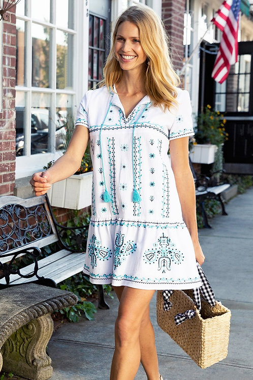 Taylor Embroidered Dress