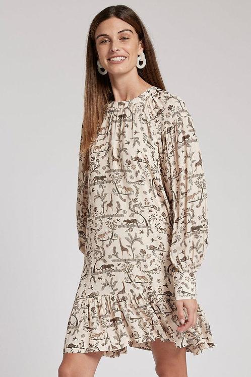 Fiona Crepe Dress