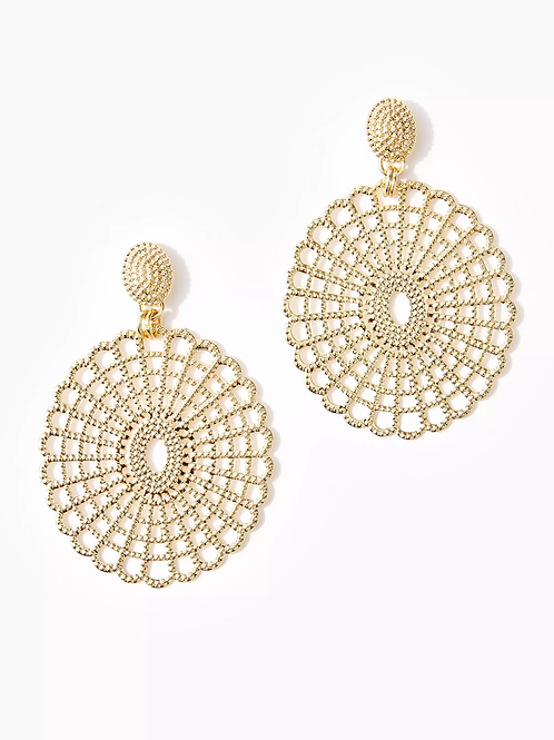 Lilly Lace Statement Earrings