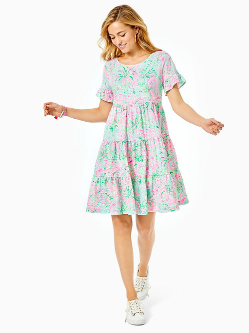 Jodee Short Sleeve Swing Dress