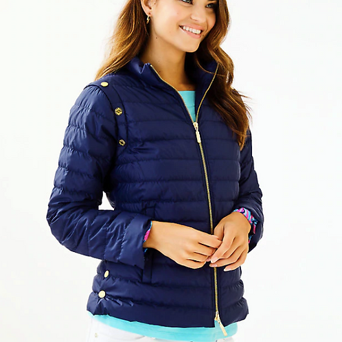 2 in 1 Haisley Puffer Vest/Jacket