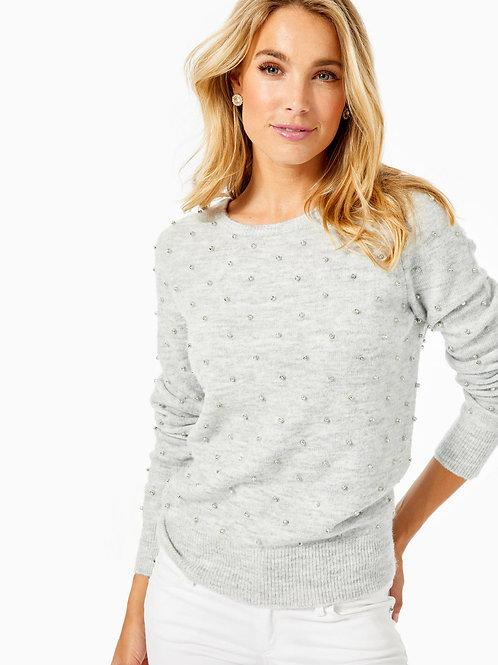 Laveta Rhinestone Sweater