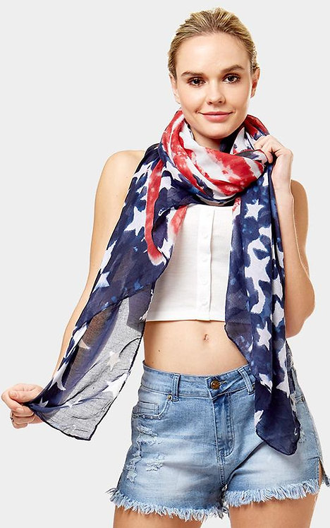flag scarf
