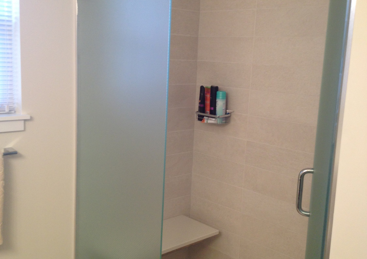Bethany Bay custom shower