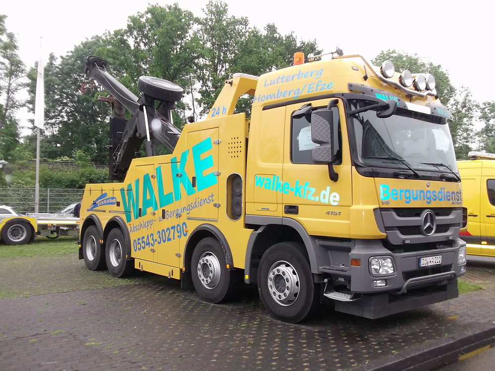 kassel secondhand recovery vehicle for sale