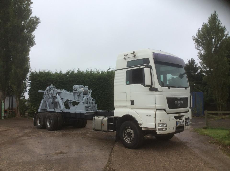 refurbished recovery vehicles