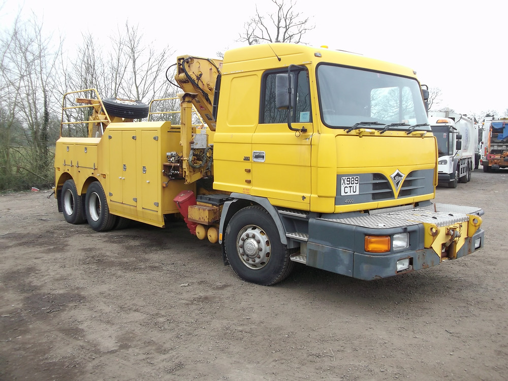 foden ministry recovery truck