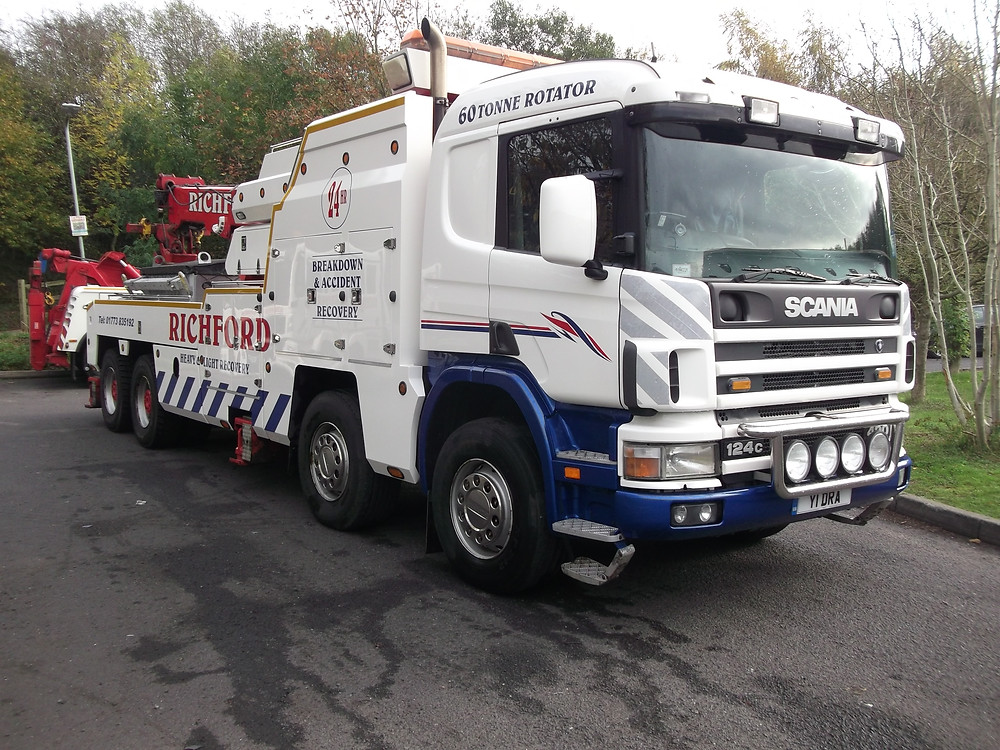 richford scania recovery vehicle for sale