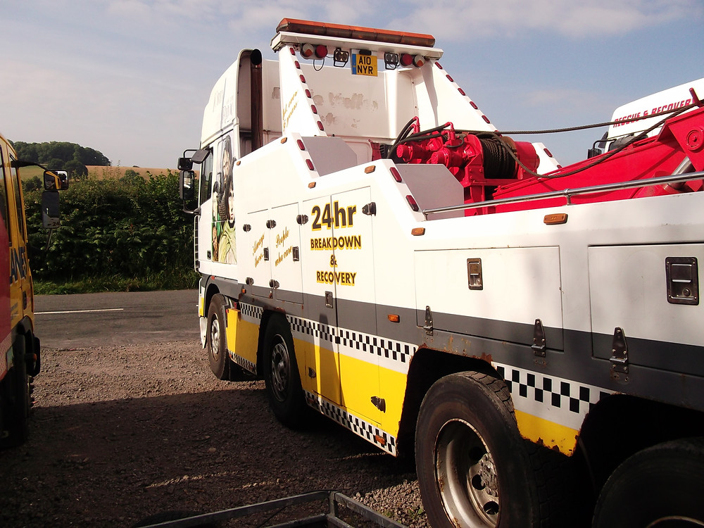 Boniface Recovery Recovery Vehicle