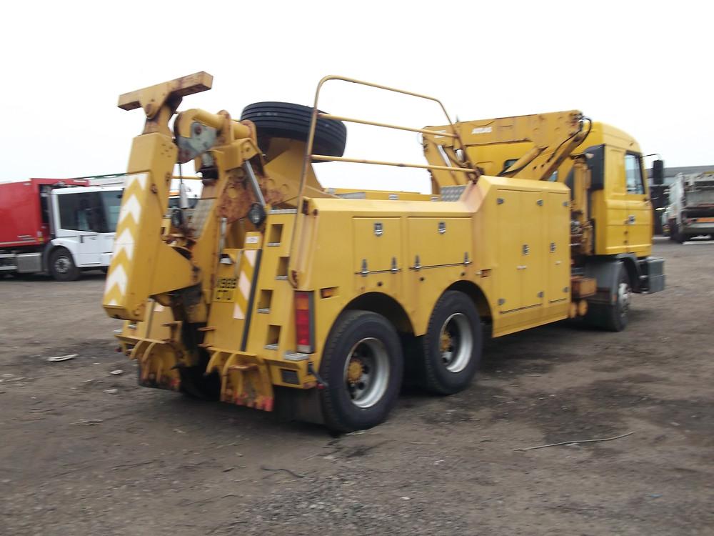 foden ministry breakdown truck