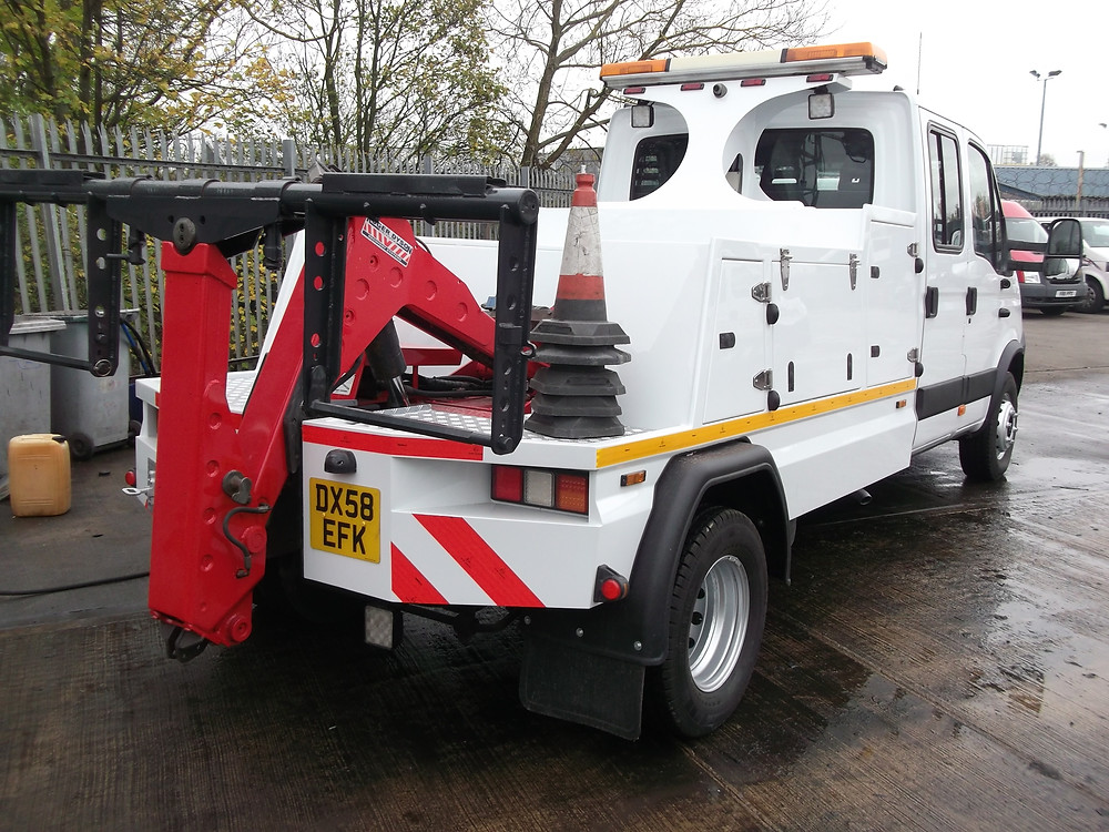 richford iveco recovery truck for sale
