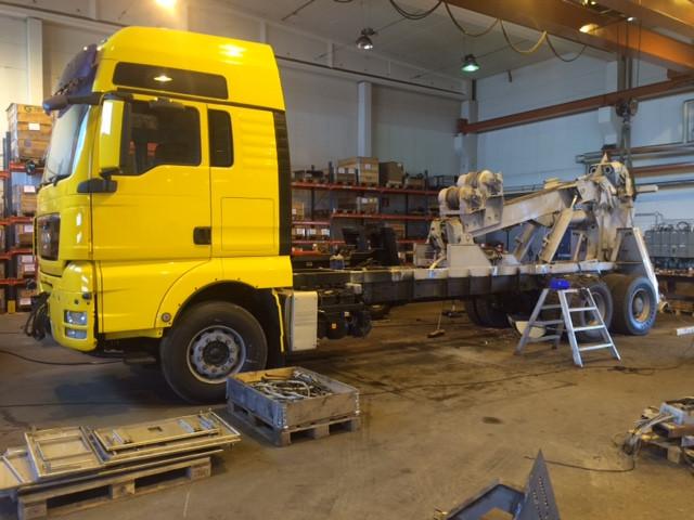 man bsm recovery vehicle for sale
