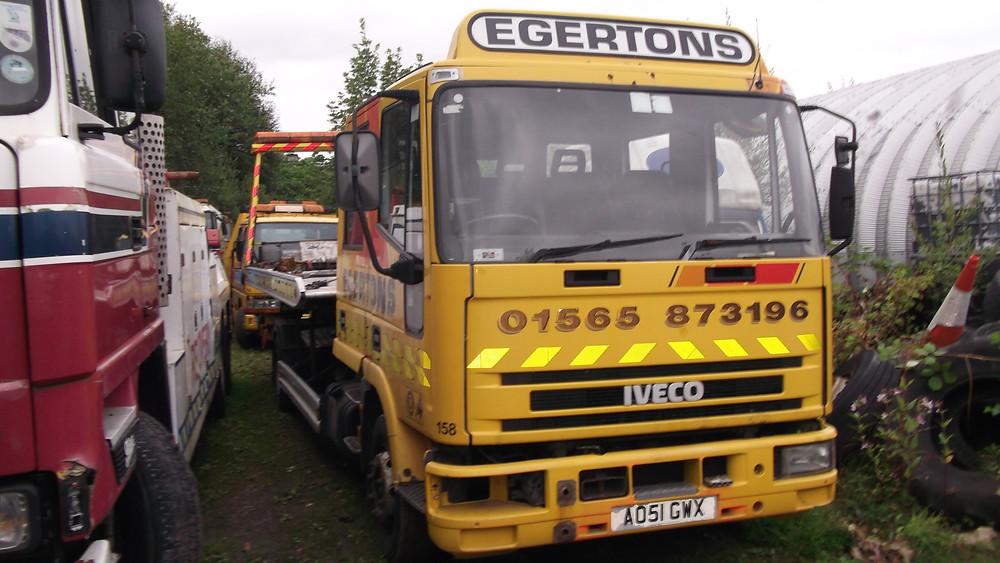 refurbish a recovery truck