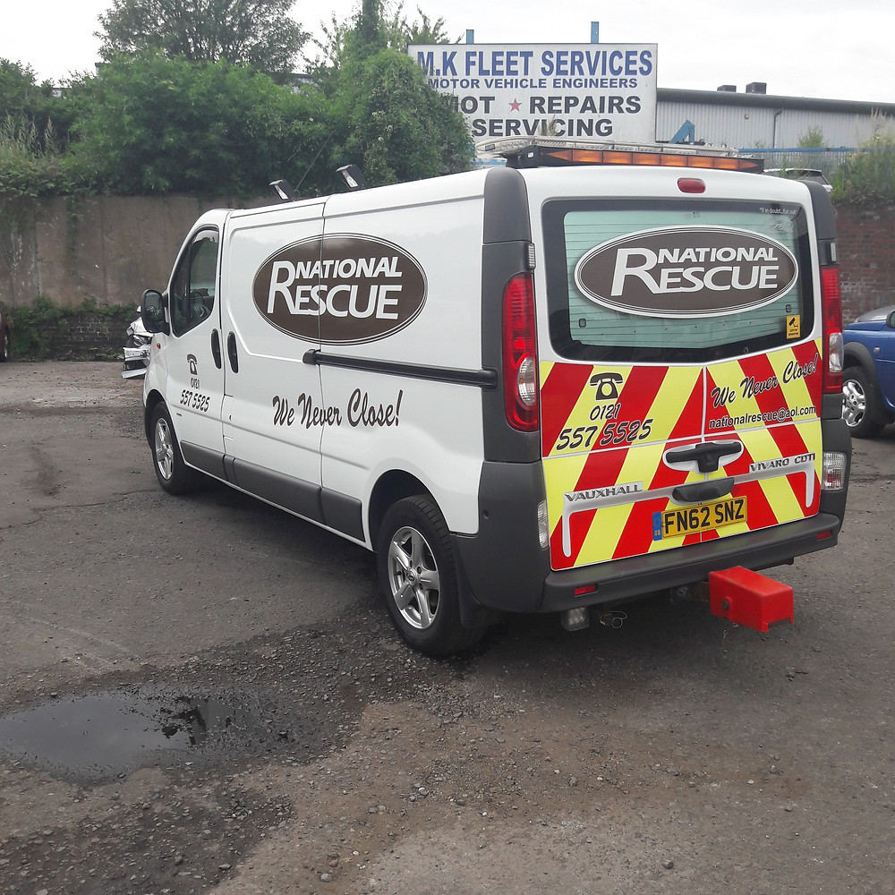 national rescue recovery truck for sale