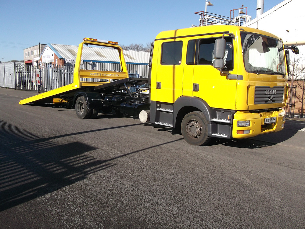 refurbished breakdown vehicle