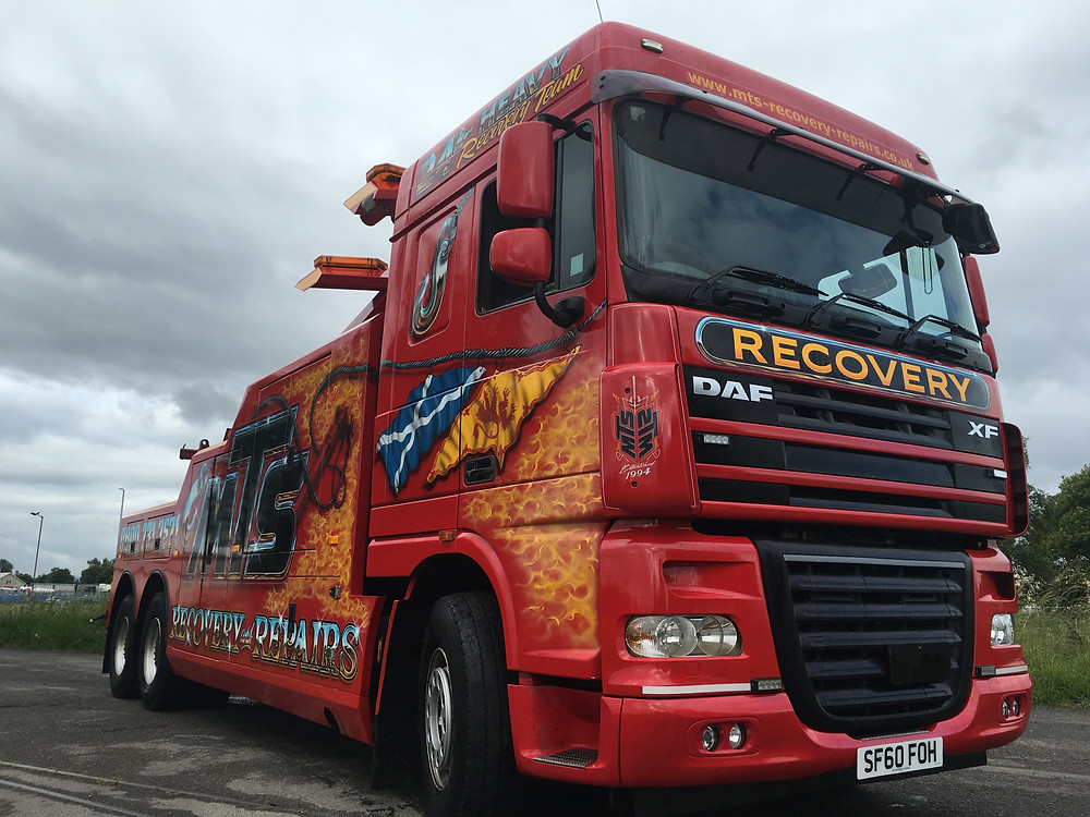 daf recovery vehicle for sale