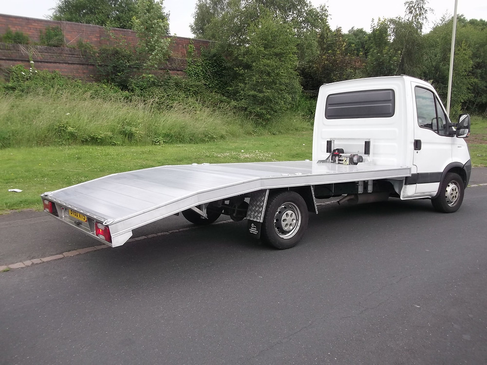 iveco single car recovery vehicle for sale