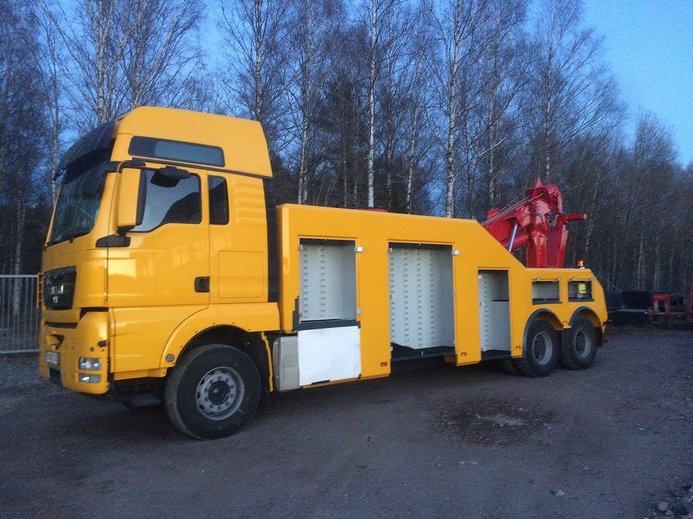 man recovery vehicle for sale