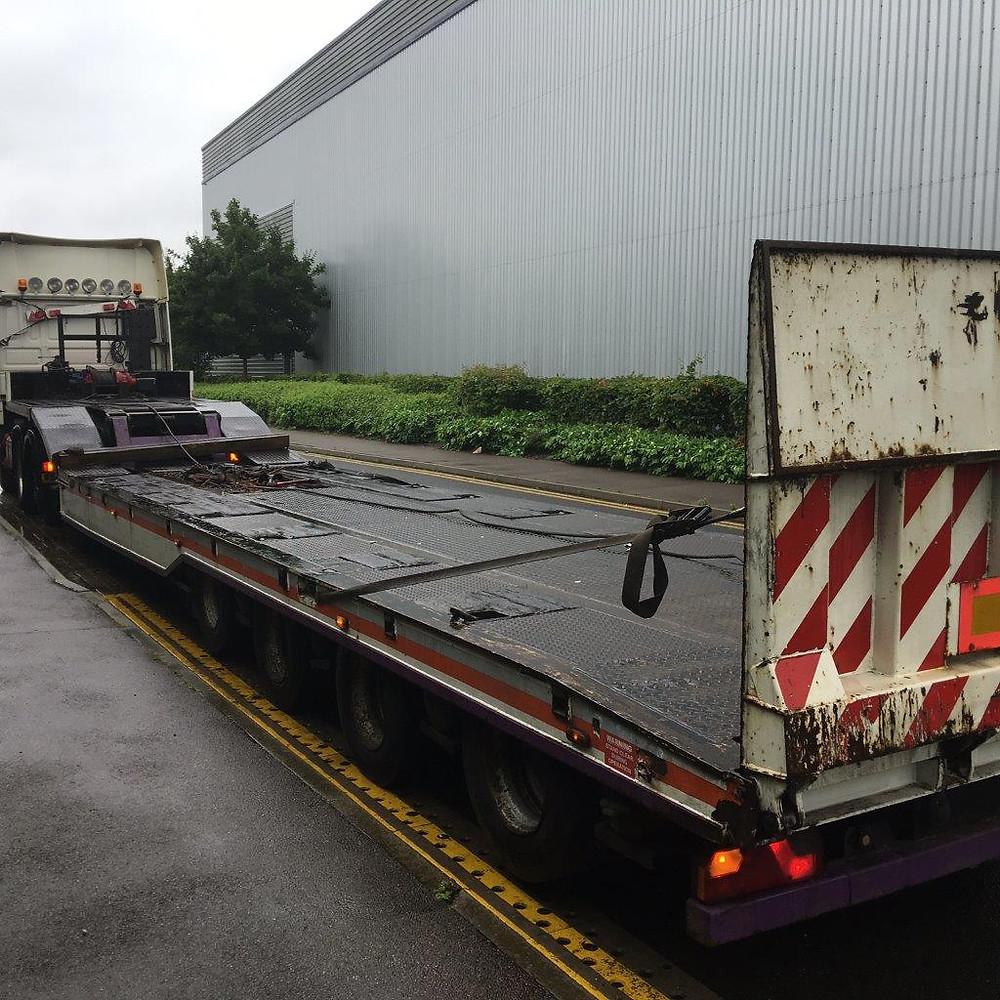 trax breakdown trailer for sale