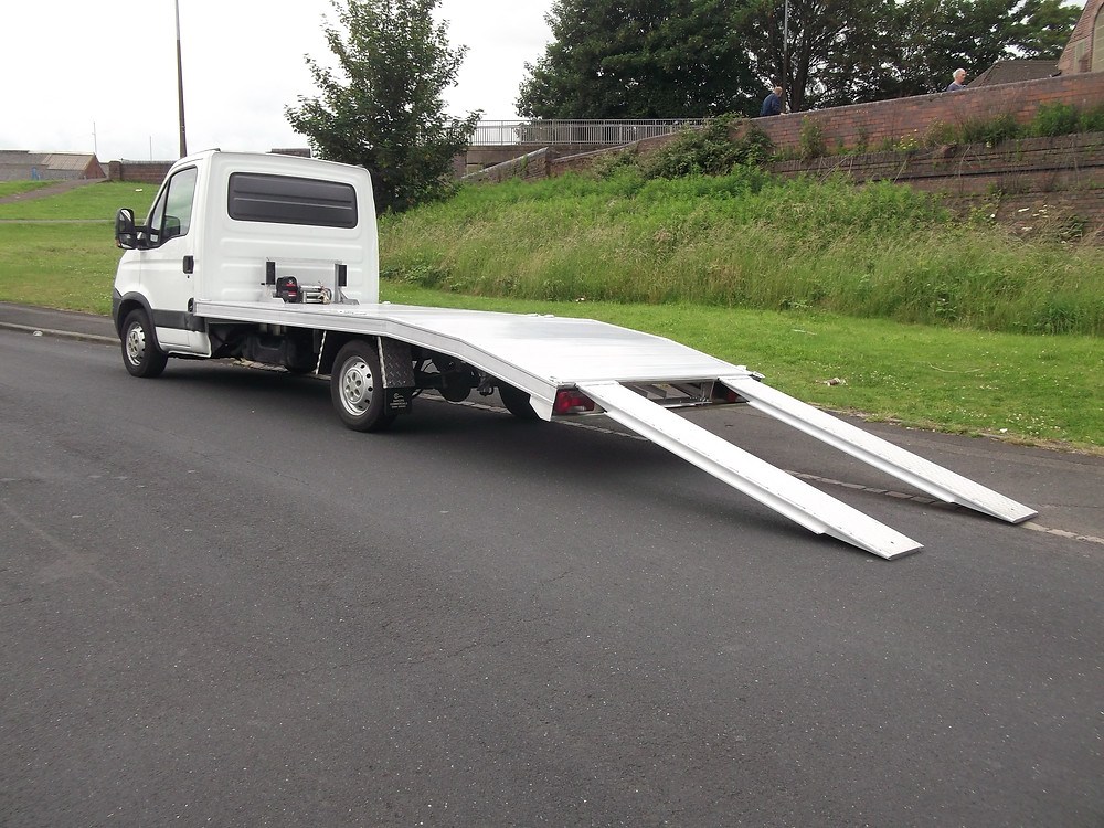 iveco single care recovery truck for sale