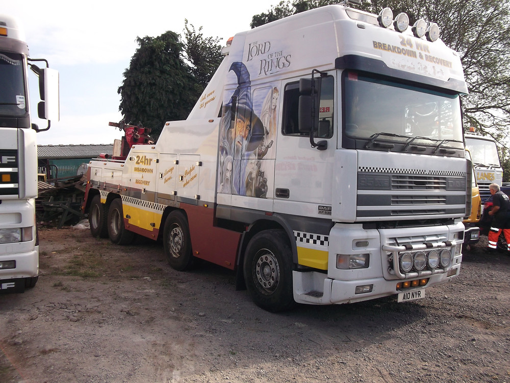 Boniface Recovery Recovery Truck
