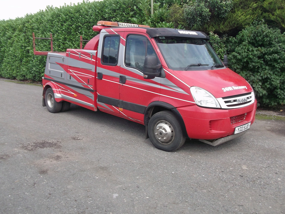 iveco crewcab recovery vehicle for sale