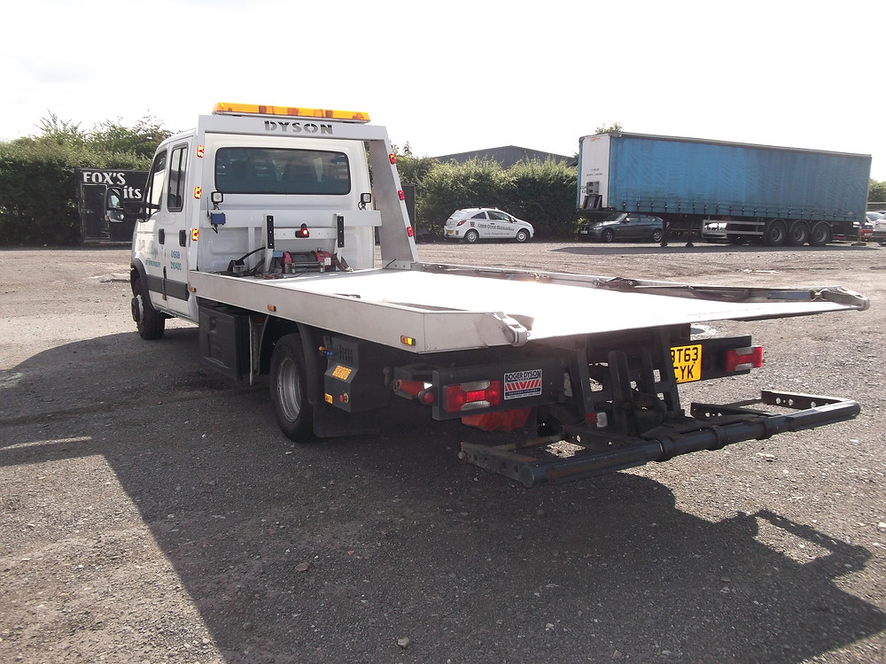 dyson recovery vehicle for sale
