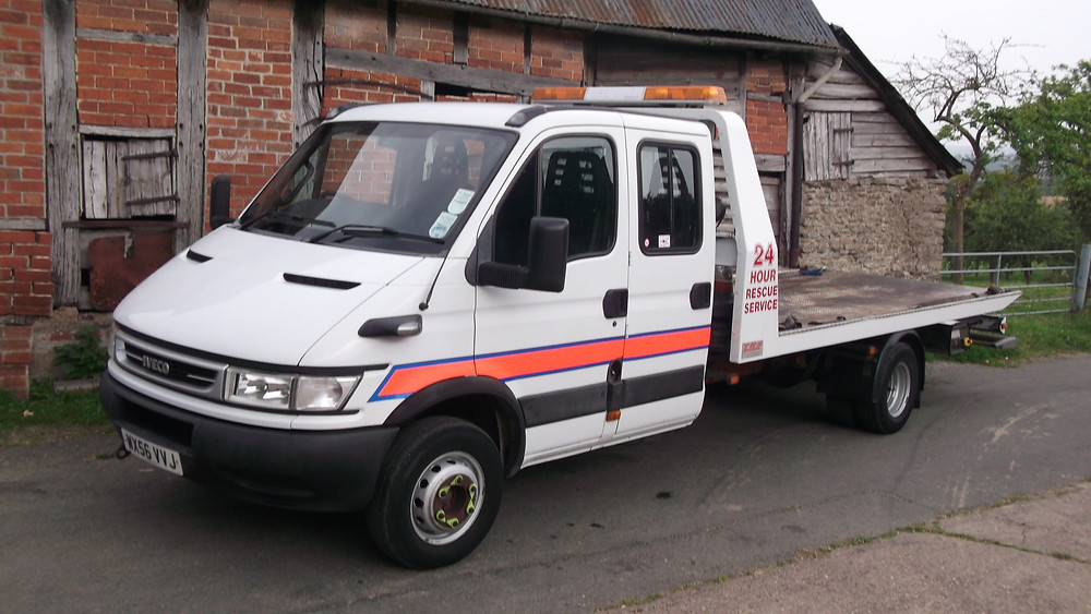 iveco 65s crew cab recovery vehicle for sale