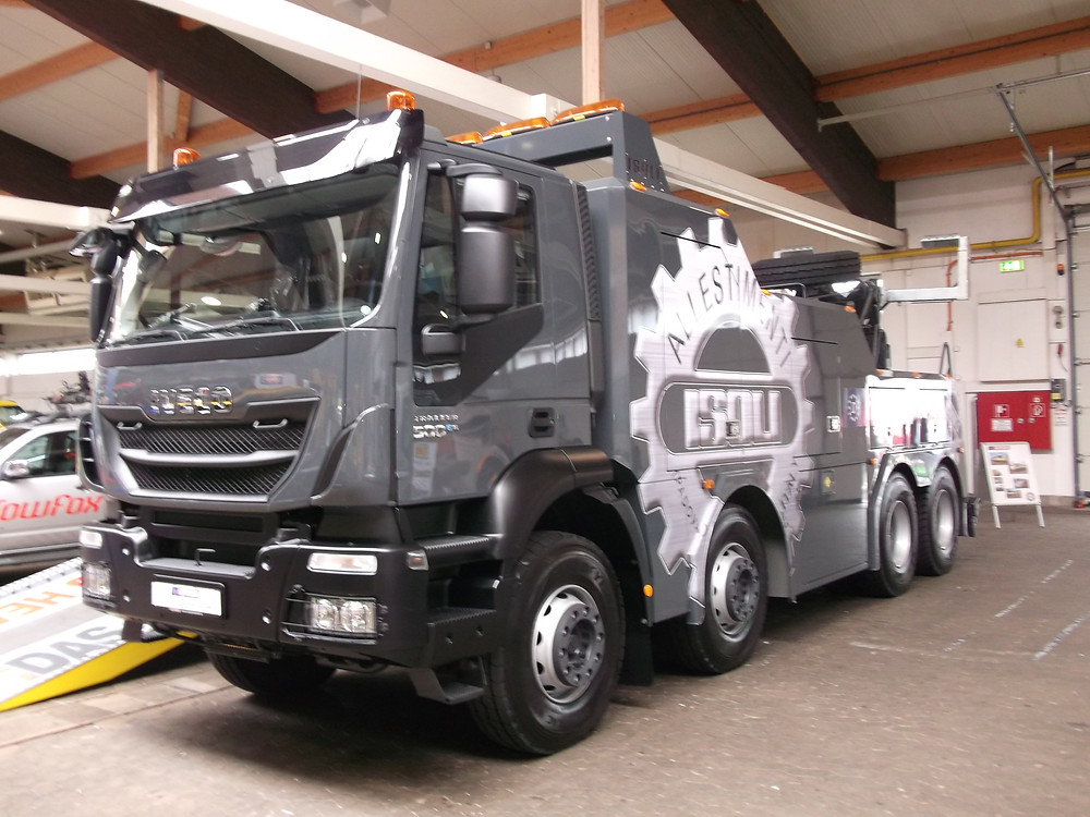 recovery vehicle news
