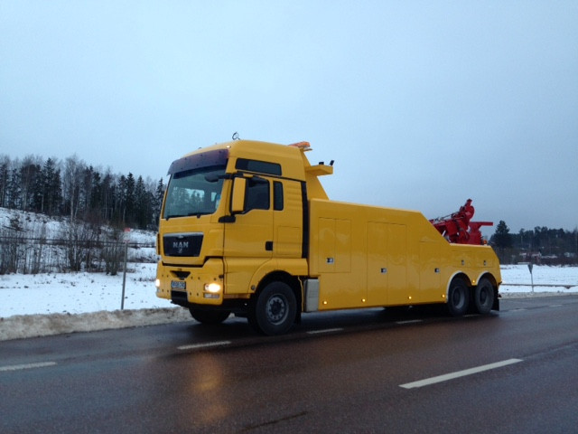 man tga recovery vehicle for sale
