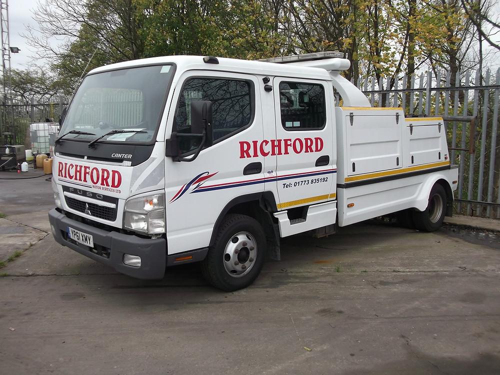 richford fuso breakdown truck for sale