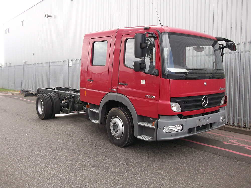 merc 1326 recovery truck for sale
